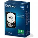 Hard Disk Western Digital Desktop Everyday 2 TB, SATA3, 64MB, 3.5inch