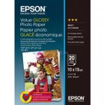 Hartie Foto Epson S400037 Glossy 10x15, 20 Coli, 183g, C13S400037
