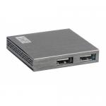 Hub USB TnB HUUSB4ALU, 4x USB, Silver