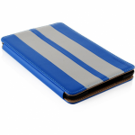 Husa Modecom California Little Race pentru Apple iPad Mini, Blue-White
