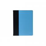 Husa/Stand TnB Micro Dots pentru iPad 2 de 9.7inch, Blue-Black