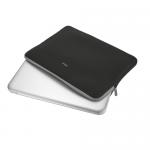 Husa Trust Primo Soft pentru laptop de 13.3inch, Black