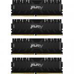 Kit memorie Kingston FURY Renegade 64GB, DDR4-3000MHz, CL15, Quad Channel