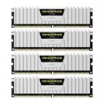 Kit Memorie Corsair Vengeance LPX White 64GB, DDR4-2666MHz, CL16, Quad Channel