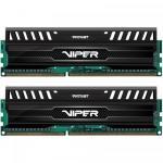 Kit Memorie Patriot ViperX 3 Black Mamba 8GB, DDR3-1600MHz, CL9, Dual Channel
