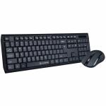 Kit wireless Gofreetech GFT-S005 - Tastatura, USB, Black + Mouse optic, USB, Black
