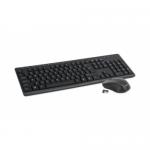 Kit Wireless Omega OKM071 - Tastatura, USB, Black + Mouse Optic, USB, Black