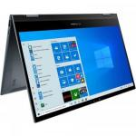 Laptop 2-in-1 ASUS ZenBook Flip 13 UX363EA-EM084T, Intel Core i7-1165G7, 13.3inch Touch, RAM 8GB, SSD 512GB, Intel Iris Xe Graphics, Windows 10, Pine Grey