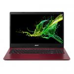 Laptop Acer Aspire 3 A315-34-P9DB, Intel Pentium Silver Quad-Core N5000, 15.6inch, RAM 4GB, SSD 256GB, Intel UHD Graphics 605, Linux, Red