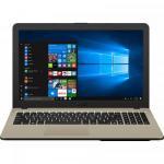 Laptop Asus VivoBook 15 X540UB-DM717T, Intel Core i3-7020U, 15.6inch, RAM 4GB, HDD 1TB, nVidia GeForce MX110 2GB, Windows 10, Chocolate Black