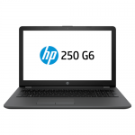 Laptop HP 250 G6, Intel Core I3-7020U, 15.6inch, RAM 8GB, SSD 256GB, Intel HD Graphics 620, FreeDos, Black