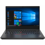Laptop Lenovo ThinkPad E14, Intel Core i5-10210U, 14inch, RAM 16GB, SSD 512GB, Intel UHD Graphics, Windows 10 Pro, Black