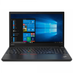 Laptop Lenovo ThinkPad E15, Intel Core i5-10210U, 15.6inch, RAM 8GB, HDD 1TB + SSD 256GB, AMD Radeon RX 640 2GB, Windows 10 Pro, Black