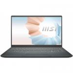 Laptop MSI Modern 14 B11MO-030XPL, Intel Core i3-1115G4, 14inch, RAM 8GB, SSD 512GB, Intel UHD Graphics, No OS, Carbon Grey