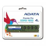Memorie A-Data Premier 4GB DDR3-1600MHz, CL11