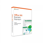 Microsoft Office 365 Business Premium, Engleza, Retail, 1Year/1user