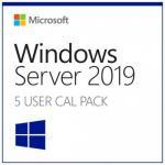 Microsoft Windows Server CAL 2019 English 1pk DSP OEI 5 Clt User CAL