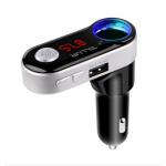 Modelator FM Tellur FMT-B2, Bluetooth, Black-Silver