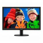 Monitor LED Philips 243V5LHAB, 23.6inch, 1920x1080, 1ms GTG, Black