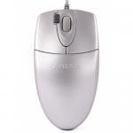 Mouse Optic A4Tech OP-620D-SL, USB, Silver
