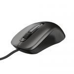 Mouse Optic Trust Carve, USB, Black