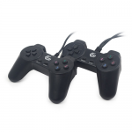 Pachet Gamepad Gembrid JPD-UB2-01, USB, Black