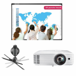 Pachet interactiv IQboard Foundation ST 87inch Curious Minds