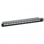 Patch Panel Logilink, 19inch, 24x porturi, Black