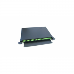 Patch panel optic Braun APP06-24-SC/APC, 19inch, 24 porturi, Black