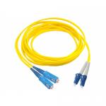 Patchcord AMP, Duplex LC-SC, 3m, Yellow