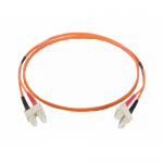 Patchcord Fibra Optica Braun, Duplex SC-SC, 3m, Orange