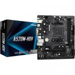Placa de baza ASRock A520M-HDV, AMD A520, socket AM4, mATX
