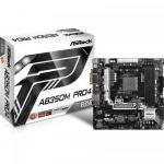 Placa de baza ASRock AB350M Pro4, AMD B350, Socket AM4, mATX
