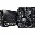 Placa de baza ASRock H310M-HDV/M.2, Intel H310, Socket 1151 v2, mATX