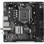 Placa de baza ASRock H410M-ITX/ac, Intel H410, socket 1200, mITX