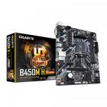 Placa de baza Gigabyte B450M H, AMD B450, Socket AM4, mATX