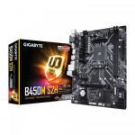 Placa de baza GIGABYTE B450M S2H, AMD B450, Socket AM4, mATX