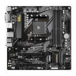 Placa de baza GIGABYTE B550M DS3H, AMD B550, socket AM4, mATX