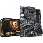 Placa de baza Gigabyte X570 Ultra Durable, AMD X570, Socket AM4, ATX