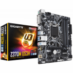 Placa de baza GIGABYTE Z370M DS3H, Intel Z370, Socket 1151 v2, mATX