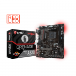 Placa de baza MSI A320M GRENADE, AMD A320, socket AM4, mATX