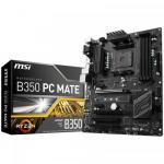 Placa de baza MSI B350 PC MATE, AMD B350, socket AM4, ATX