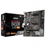Placa de baza MSI B450M-A PRO MAX, AMD B450, Socket AM4, mATX