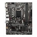 Placa de baza MSI H410M-A PRO, Intel H410, Socket 1200, mATX