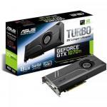 Placa video Asus nVidia GeForce GTX 1070 Ti TURBO 8GB, DDR5, 256bit