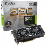 Placa video EVGA nVidia GeForce GTX 1050 Ti SSC GAMING ACX 3.0 4GB, GDDR5, 128bit