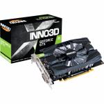 Placa video Inno3D nVidia GeForce GTX 1650 SUPER Compact, 4GB, GDDR6, 128bit