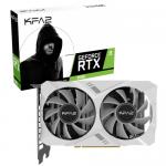 Placa video KFA2 nVidia GeForce RTX 2060 White Mini 1-click OC, 6GB, GDDR6,192bit