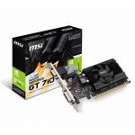 Placa video MSI nVidia GeForce GT 710 1GB, DDR3, 64bit, Low Profile