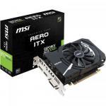 Placa video MSI nVidia GeForce GTX 1050 Ti AERO ITX OCV1 4GB, DDR5, 128bit